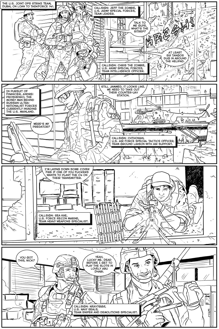 Joint Operations Comic 1
